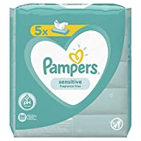 Pampers 帮宝适 Pampers 敏感湿巾 5 x 1.532999999999 kg