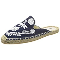 Soludos 女 渔夫鞋 IBIZA EMBROIDERED MULE 1000321