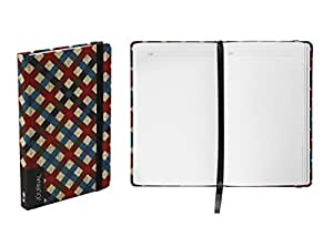 Nava 设计图案笔记本日志 十字