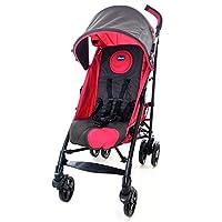 意大利 Chicco 智高 Liteway乐维可折叠婴儿轻便推车(紫红色) (适合0-3岁宝宝 可拆卸座套 防滑把手 万向前轮 5点式安全带)