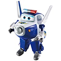 Super Wings - Transforming Paul Toy Figure   Plane   Bot   5? Scale