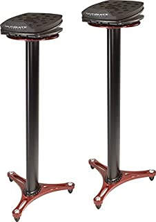 Ultimate Support MS100R Professional Column Studio Monitor Stand with Adjustable Angle and Axis