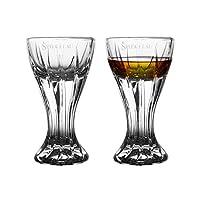 spiegelau 诗杯客乐 茅台杯系列 进口水晶玻璃白酒杯小酒盅烈酒杯小吞杯2件 2680320(L)(亚马逊自营商品, 由供应商配送)