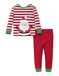 Little Me Holiday 2 Piece Pajama Set, 18m (Happy Santa)  Happy Santa 18 Months