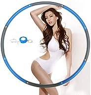 NEOWEEK 成人呼啦圈 加重型呼啦圈 适用于锻炼 2 磅 可拆卸设计 - 专业健身呼啦圈