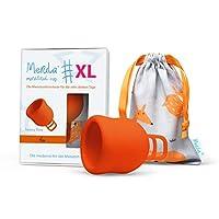 Merula 月经杯 XL 狐狸(橙色) 适用量特别大的日子