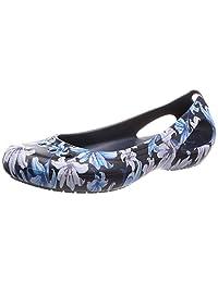 [卡骆驰] 凉鞋 可爱 磨光 平底 女鞋