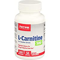 Jarrow Formulas L-肉碱 支持脑、能量 营养片 500mg 50粒