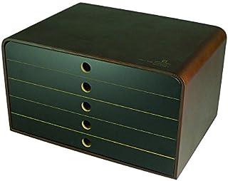 雅马特 工艺 收纳箱 棕色·黑色 34×24.5×19.2cm YK09-118-BrBk