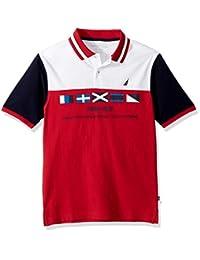 Nautica 男童短袖 HERITAGE POLO 衫