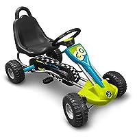 Stamp- Gokart 防滑控制踏板 89 x 52 厘米 J679001 蓝*-灰-黑色