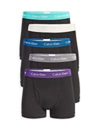 Calvin Klein Underwear Men's Cotton Stretch Low Rise Trunks