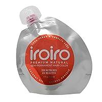 IROIRO 高級天然半永久發色 330 霓虹紅 8 oz / 236 ml