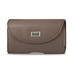 Reiko Horizontal Pouch HP146 for HTC HD2 T8585 Plus - Retail Packaging - Browzer