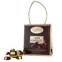 Caffarel 口福莱 黑巧克力制品 礼袋装 180g(意大利进口)(亚马逊自营商品, 由供应商配送)