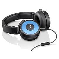 AKG 爱科技 Y55 便携多色 头戴式 智能手机可通话耳机 蓝色