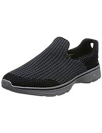 Skechers 斯凯奇 GO WALK 4系列 男 轻质一脚套 健步鞋 54175