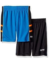 STX 时尚男孩 2 件装 Cationic Active 短裤