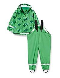 Fred's World by Green 棉质婴儿 - 男孩雨衣套装星星雨衣