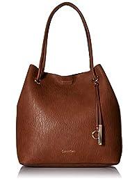 Calvin Klein Gabrianna 泡泡羊羔北部和南方钥匙物品手提袋