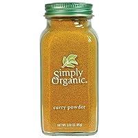 Simply Organic 咖喱粉,3盎司/瓶,85克
