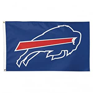 WinCraft NFL Buffalo Bills 01801115 豪华旗帜,7.62 厘米 x 12.70 厘米