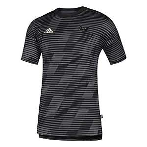 adidas MLS D.C. United 男式文化款短袖 T 恤,S 码,黑色