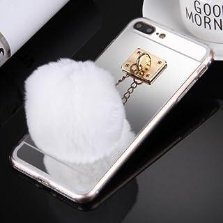 alsatek TPU 保护壳,适用于 iPhone 7 Plus 带门钥匙,集成银