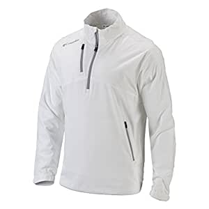 Columbia Omni-shade Takeaway Jacket, White, Medium