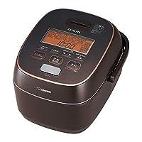 ZOJIRUSHI 象印 电饭煲 NW-JT10-TA 压力IH式 铁器涂层 棕色 5.5合(约0.92L)