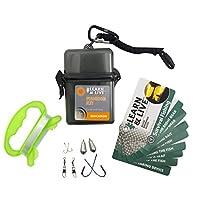 UST Learn & Live 户外教育套件,带有防水卡、工具及防水保护套,适合远足、露营、背包、狩猎和户外生存使用