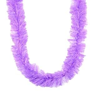 Touch of Nature 2-Yard 28gm Thread Garland with Metallic Lurex, Lavender