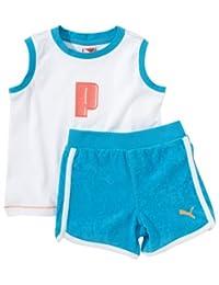 Puma 男童 Summer 男女通用 3 件套