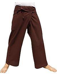 RaanPahMuang 品牌粗细棉泰国渔夫紧身裤