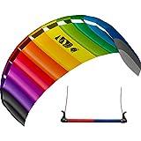 HQ Symphony Beach III 2.2 Sport Kite 中性款床垫 – 彩虹色 220 x 73 厘米