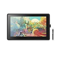 Wacom 创意数位屏 Cintiq 22 FHD 黑色 附Amazon限定数据 DTK2260K1D