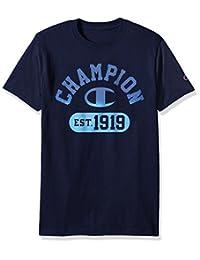 Champion 男士 Classic Jersey 印花 T恤