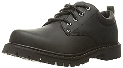 Skechers USA Men's Tom Cat Utility Shoe,黑色,7 M US