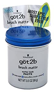 Got 2B Beach Matte Paste 3.5oz (3 Pack)