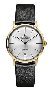瑞士品牌 HAMILTON 汉米尔顿 臻薄系列 机械 男士腕表 H38475751