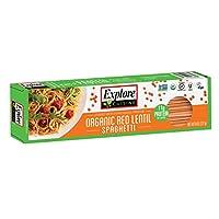 Explore Cuisine - 有机红色小扁豆意粉 - 8 盎司