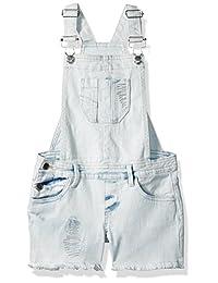 Calvin Klein 女童 cut-off 牛仔连衣裤