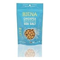 Biena Non-GMO Chickpea Snacks, Sea Salt, 5 Ounce (Pack of 4)