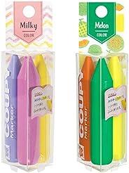 Sakura Craypas 彩色铅笔 COUPY MARK ミルキー×メロン