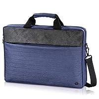 Hama Tayrona 笔记本包39.6厘米(15.6英寸)邮差保护套,蓝色,灰色 – 笔记本电脑包(信使套,39.6厘米(15.6英寸),肩带,500克,蓝色,灰色)