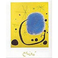 Buyartforless L'oro Dell'azzurro Joan Miro 创作 30.48 x 24.13 厘米艺术印刷海报