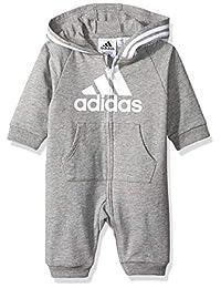 adidas 阿迪达斯女婴和男婴连体衣