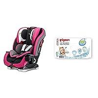 Graco 葛莱 美国儿童汽车安全座椅基石系列8AE99PRPN紫色(0-12岁(赠:PIGEON 贝亲 婴儿柔湿巾80片装)
