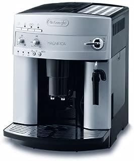 De'Longhi 德龍Magnifica ESAM 3200.S全自動咖啡機(按鍵設計,制作奶泡,13種程度研磨技術,可拆卸式萃取機芯,一次萃取兩杯)銀色