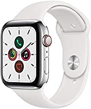 Apple Watch Series 5 (GPS + Cellular款)MWWF2J/A  Stainless Steel 44mm White Sport